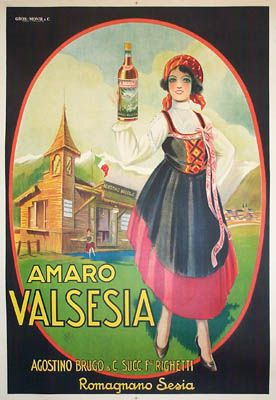 Vintage art from Amaro Valsesia