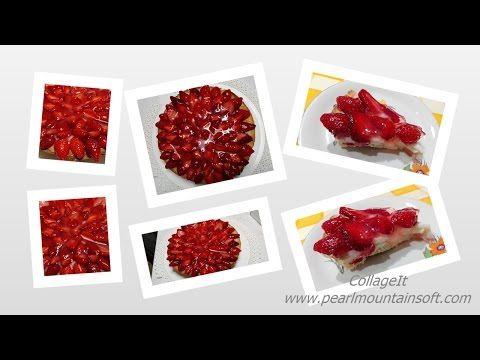 Dolcilandia e non solo...: Video tutorial : Crostata con crema pasticcera e f...