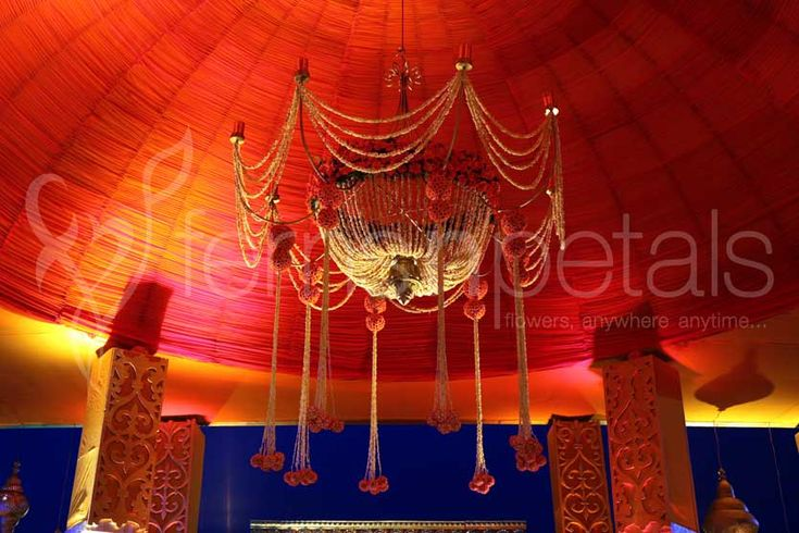 #Crystal #Chandeliers for #Wedding #Decoration at FNP Weddings