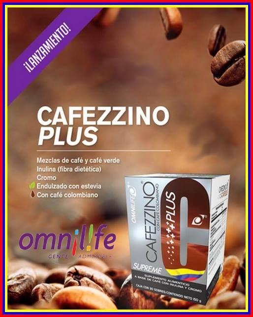 Cafezzino Supreme Plus de #omnilife , mezclas de de café y