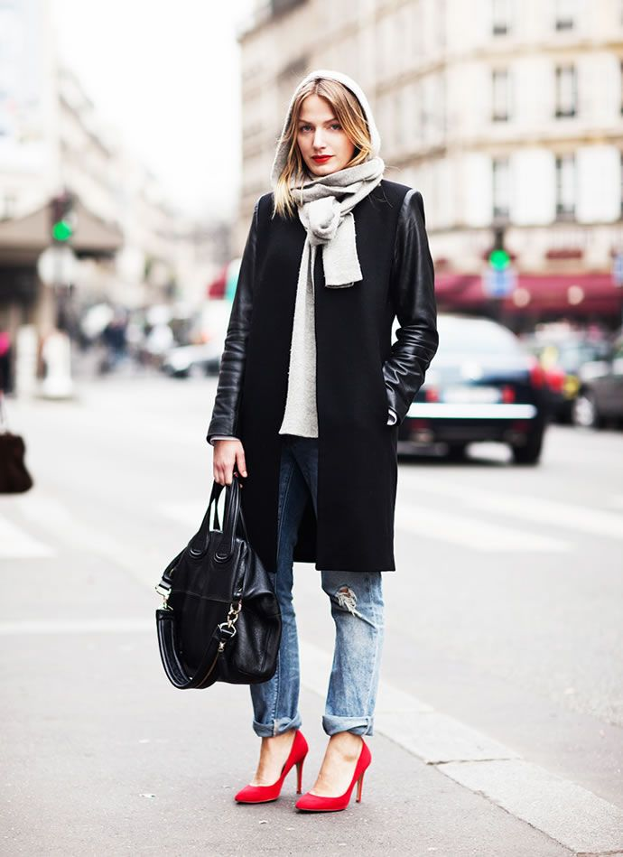 Советы стилистов: как и с чем носить джинсы бойфренда