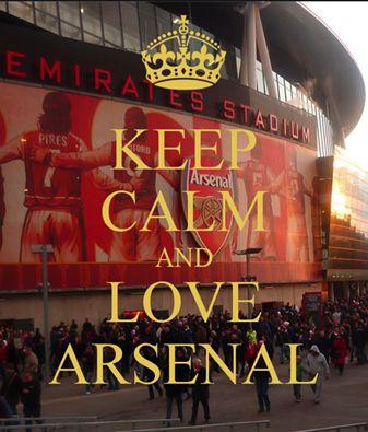 Love Arsenal!