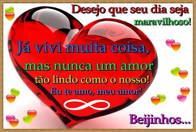 Cartoes Postais De Bom Dia Meu Amor Amor Pensamentos De