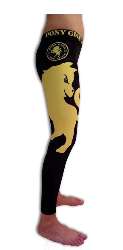 """Pony Club Grappling Gear """"the yang"""" spats $50.00. If these come in ranked colors, I am buying them when I get to do no gi."""