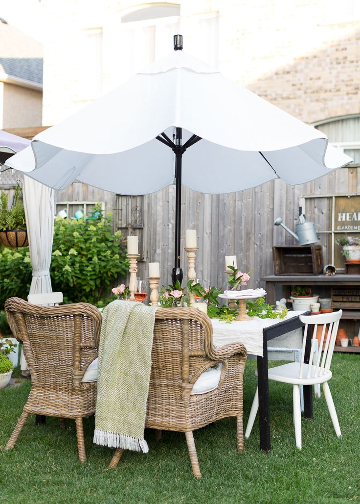 333 best outdoor tables and dining images on Pinterest