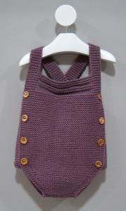 Pelele de punto para bebés (diferentes tallas)