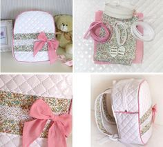 Tutoriales de costura: mochila infantil para llevar las cosas del bebé