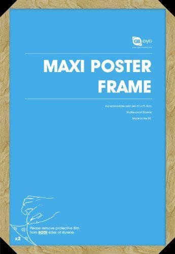 Oak Maxi Poster Frame - 61cm x 91.5cm GB eye Ltd http://www.amazon.co.uk/dp/B00485U6GG/ref=cm_sw_r_pi_dp_rTZRtb0VJ3M147F2