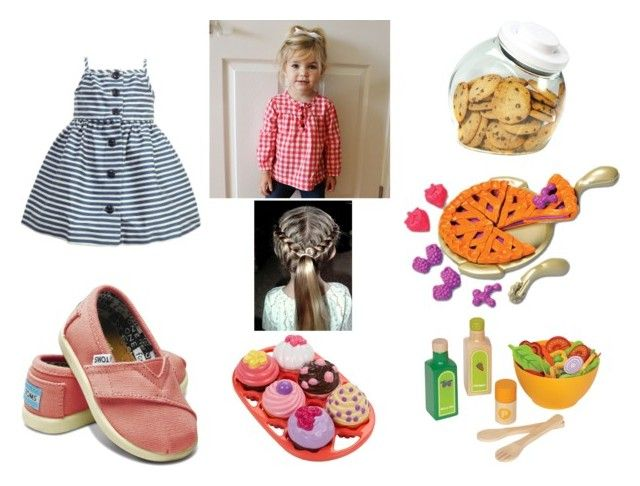 """""""baby marlene"""" by ezra1808 ❤ liked on Polyvore featuring Ralph Lauren, TOMS, OXO and Hape"""