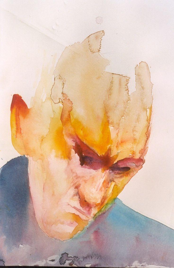 watercolor, Lorene Taurerewa,