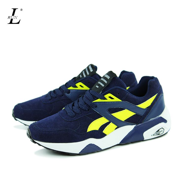 Man Sports Running Shoes Flat Trendy Walking Shoes Korean Cheap Breathable Comfortable Trainers Outdoor Lightweight Sneakers