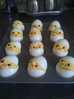 Deviled Egg Chicks, saving for easter