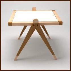 """Mesita Madera """"N°7"""", MOISA  muebles para niños de madera"""