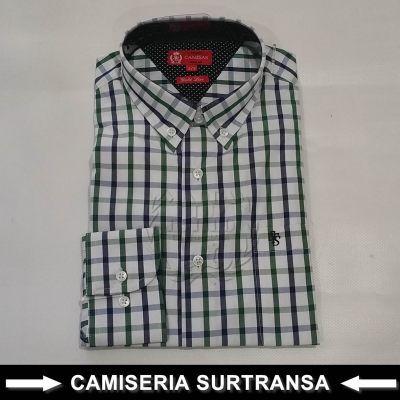 Camisa Cuadros Surtransa 1123