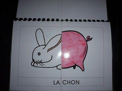 La classe de Laurène: Livre à syllabes - hey bravo bonne idée pour la première année lorsqu'on apprends les sons!!