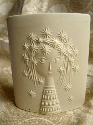 Hornsea John Clappison Aphrodite Mid Century Retro Vintage Vitramic Vase