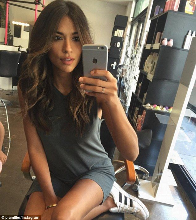 New look! On Wednesday, Home and Away's Pia Miller showcased her fresh hair colour, trim a...