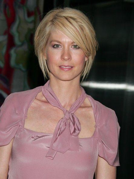 jenna elfman hairstyles | Jenna Elfman Actress Jenna Elfman attends the Prada Los Angeles ...