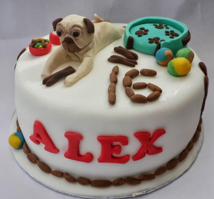 Pug Dog Cake Images : 1000+ ideas about Pug Birthday Cake on Pinterest Pug ...