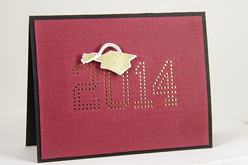 2014 Graduation Card by Erin Lincoln for Papertrey Ink (April 2014)