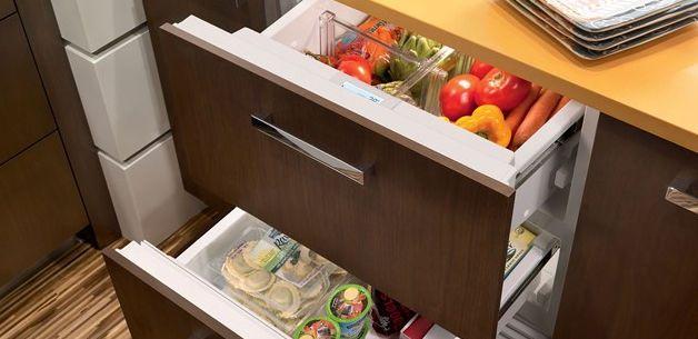 http://subzero.frigo2000.net/ Congelatore sottopiano / ad uso residenziale / in acciaio inox / da incasso - ID24FI - SUB-ZERO