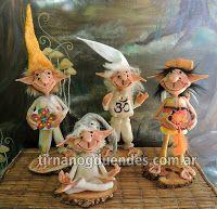 Ventas por mayor y menor. Duendes articulados y macizos. Esculturas. Miniaturas. Recreaciones. Hadas. Sirenas. Brujas. Souvenirs.