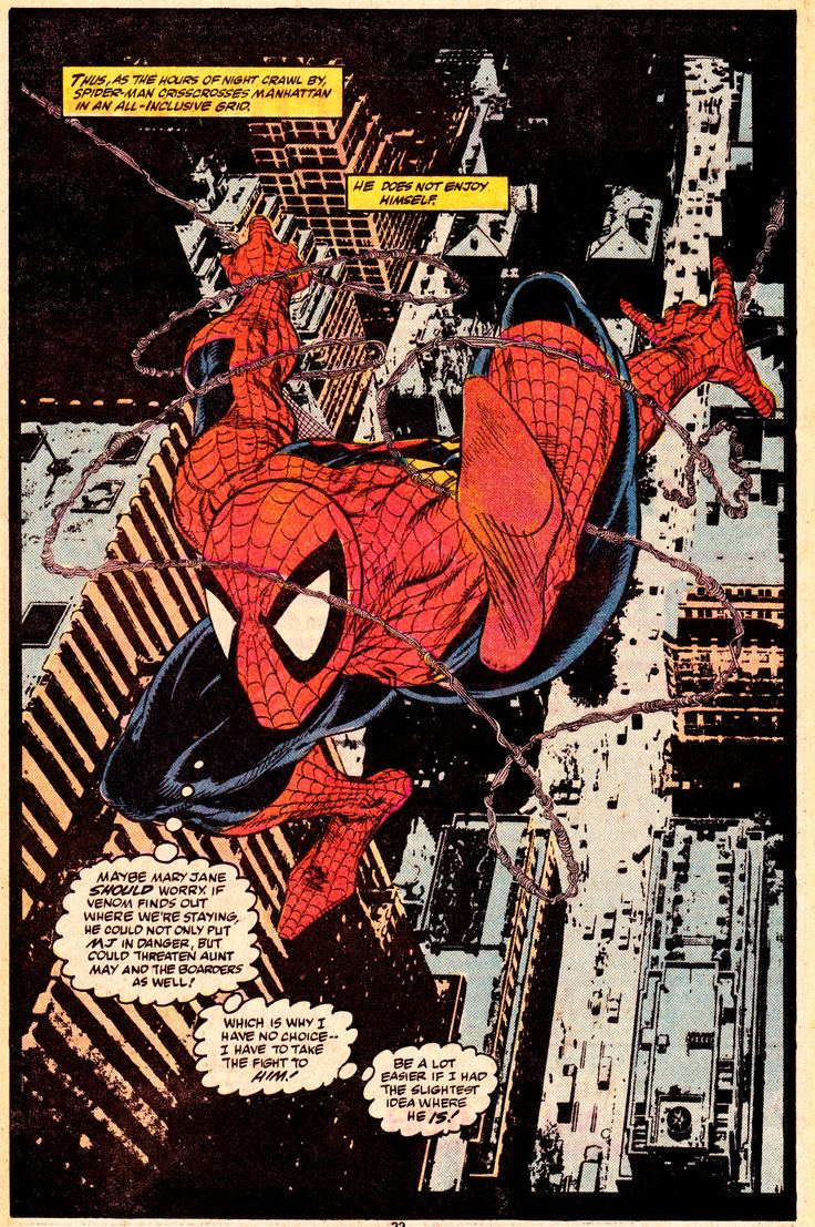 The Amazing Spider-ManAmazing Spider-Man #316 (June 1989)Art by Todd McFarlane (pencils/inks) & Bob Sharen (colors)Words by David Michelinie