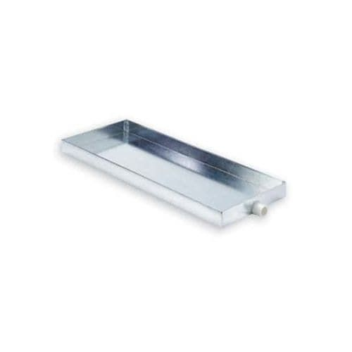 Mr Steam MS103867 Drain Pan with 3/4 Drain Fitting for Mr Steam Residential Steam Generators