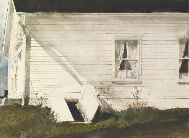 """""""Elsie's House""""  Andrew Wyeth"""