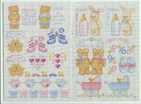 Small cross stitch pattern schemini