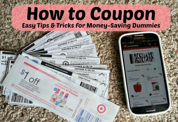 Couponing for dummies: Easy money saving tips and tricks for coupon newbies