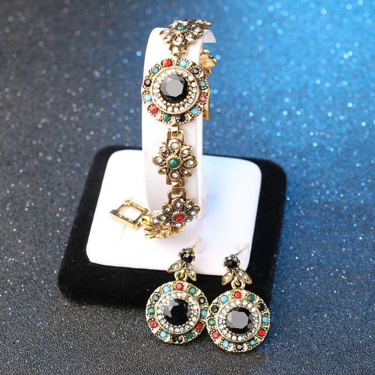 Роскошный комплект ювелирных изделий Винтаж Малахит Bijoux налета или Серьги для женщин Свадебные аксессуары подарок для невесты из двух предметов Комплекты купить на AliExpress