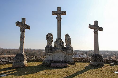 Calvary Hill crucifixes - Tata, Hungary