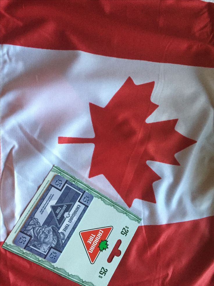 I'm proud to be Canadian! Enter to win a $25 Canadian Tire gift card with @kissygluvvym !