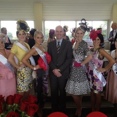 Townsville Fashion Festival Race Wear Designers at the Townsville Bulletin Race Day at Cluden Park