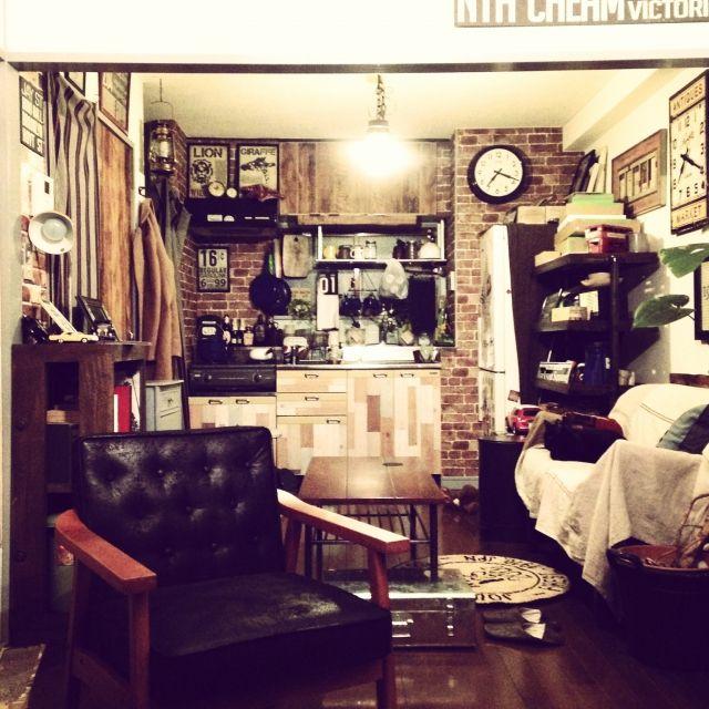Naoki.さんの、部屋全体,ジャーナルスタンダードファニチャー,ブルックリンスタイル,journal standard Furniture,のお部屋写真