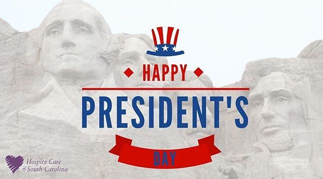 """Today is #PresidentsDay! Every third Monday in the month of February we honor presidents of our past and present. This federal holiday was first celebrated to recognize George Washington's birthday as titled """"Washington's Birthday"""" but then was later changed to """"President's Day"""" since Abraham Lincoln and Thomas Jefferson's birthdays are close too. #seniorhousing #seniors #55plus #55condos - posted by Hospice Care of South Carolina https://www.instagram.com/hospicecareofsc - See more Senior…"""