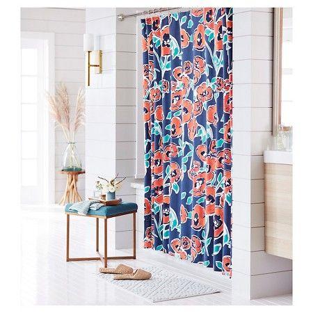 Threshold™ Shower Curtain - Windblown Floral : Target ($18.50)