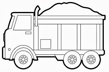 coloring pages for transportation units - photo#23