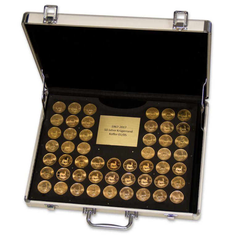 Der Krügerrand als die erste Goldbullionmünze der Welt erschien erstmals 1967 und von da an jedes Jahr. Allerdings in unterschiedlichen Stückzahlen. So z.B. in Jahren des Südafrika-/Krügerrand-Boyk…