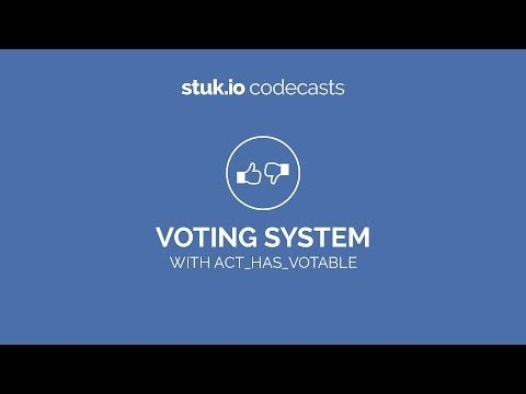 (10) Codeplace | Create a Voting System (Reputation) in Ruby on Rails using act_has_votable - YouTube
