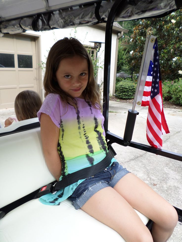 Golf cart seat belts are an important golf cart accessory to keep you and your passengers safe.