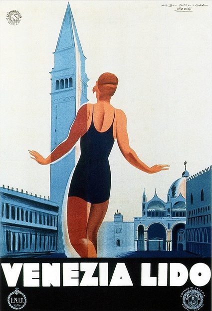 vintage poster by Marcello Dudovich