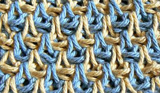 "Strange ""Teardrop"" Stitch | A Quest for Beauty & Utility through Tunisian Crochet"