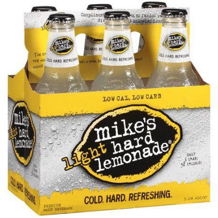 Mike's Hard Lemonade Light Hard Lemonade Premium Malt Beverage, 6ct