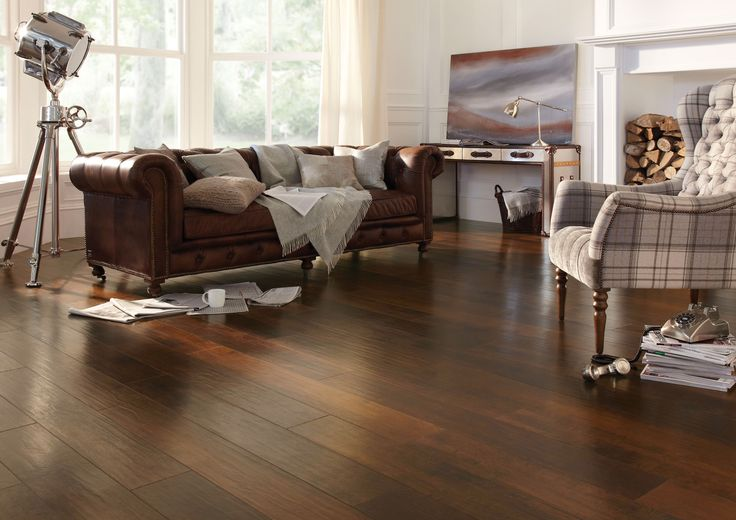 Karndean wood flooring - Spanish Cherry by @KarndeanFloors available from Rodgers of York #flooring #interiors