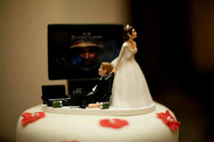 Cake topper for a nerd!