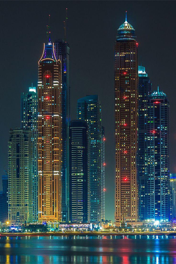 """ponderation: """" Dubai Skyscrapers by Alexander V (aka LAVRADAR) """""""