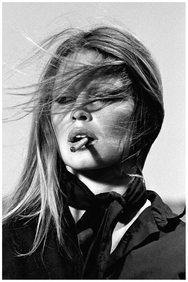 Brigitte Bardot with a cigar on the set of The Legend of Frenchie King, Spain, 1971, by TerryO'Neil