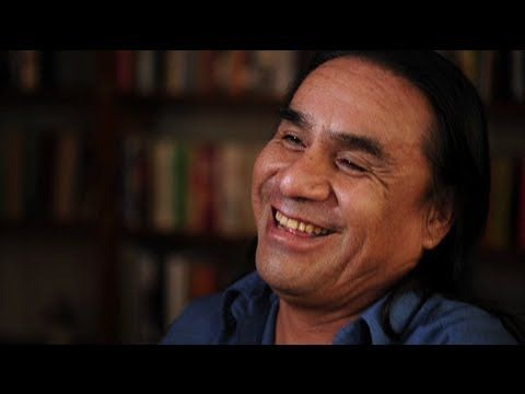 """Teacher Roger White Eyes works to ensure that his students at Red Cloud Indian School on the Pine Ridge Indian Reservation learn Lakota, the native language for the Oglala Sioux people. """"I tell my students, this language has a spirit,"""" he says. """"It's who you are as a Lakota person."""""""